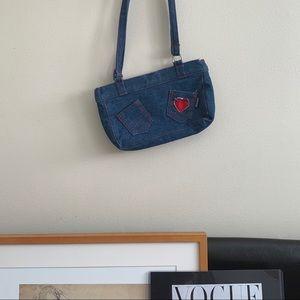 Vintage Moschino Denim Bag